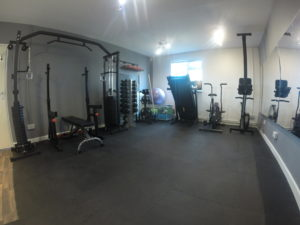 Our private Personal Training Studio